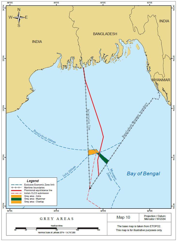 UNCLOS Annex VII Tribunal decides Bangladesh-India maritime ...