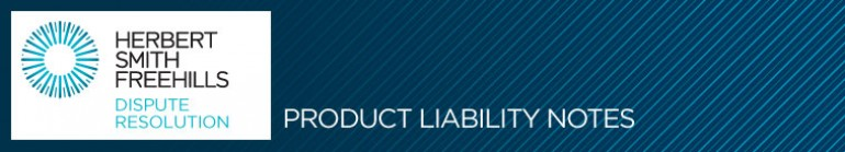 Herbert Smith Freehills - Product liability notes