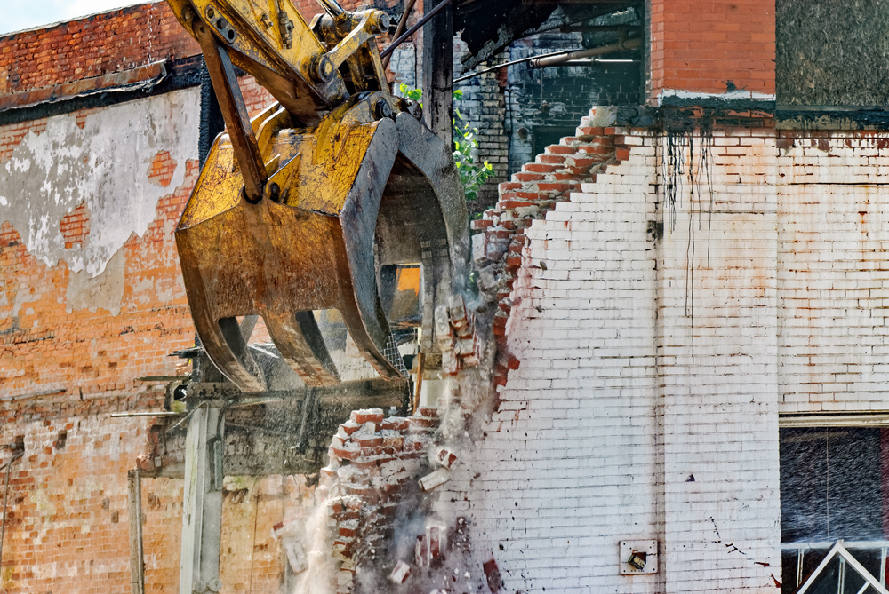 historic buildings and the dangers of demolition
